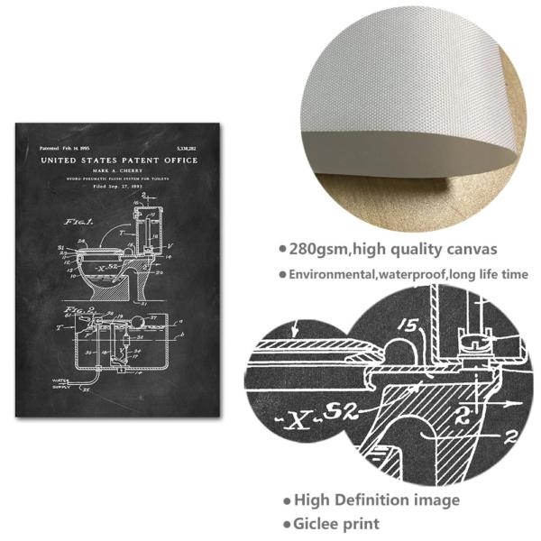 Mockup patent print