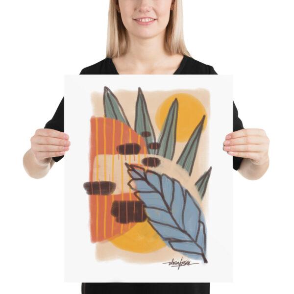 abstract nature I print