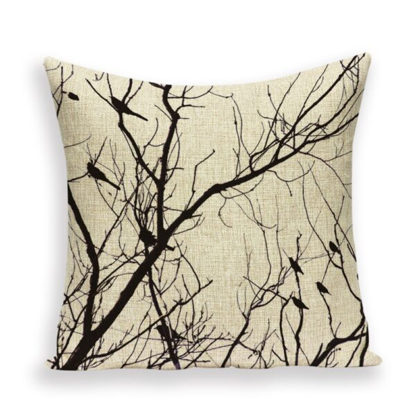 Calm tree cushion