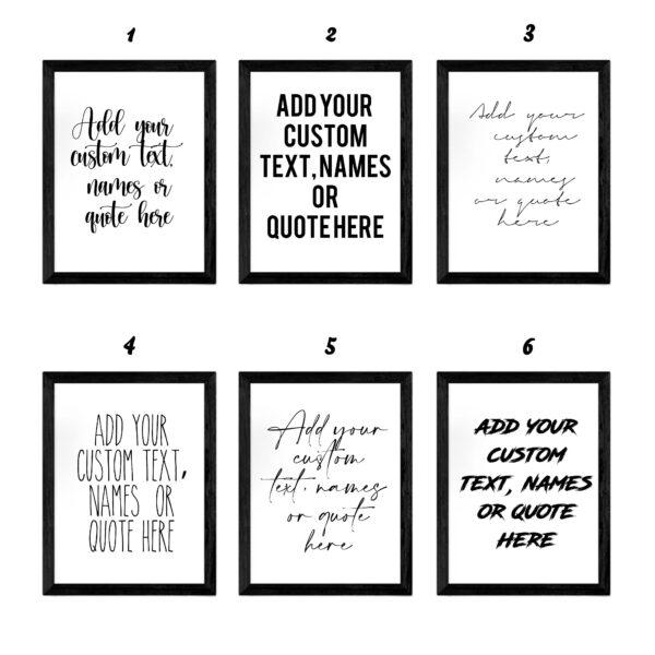 quotes artline mockup custom