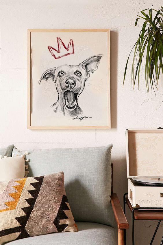 Dog King mockup