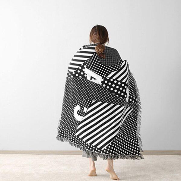 Black & White Craft Tapestry