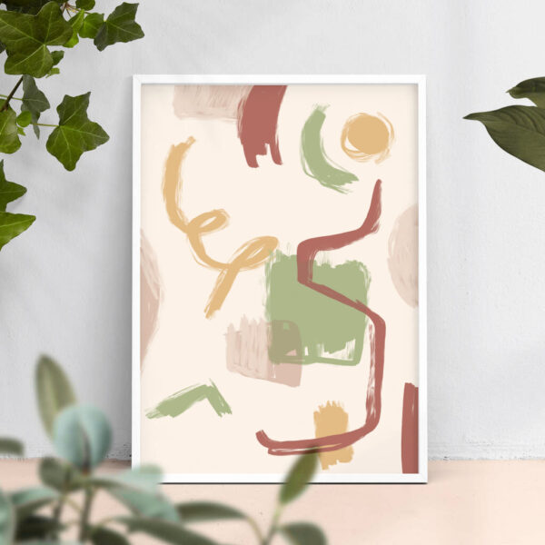 Abstract inner shapes