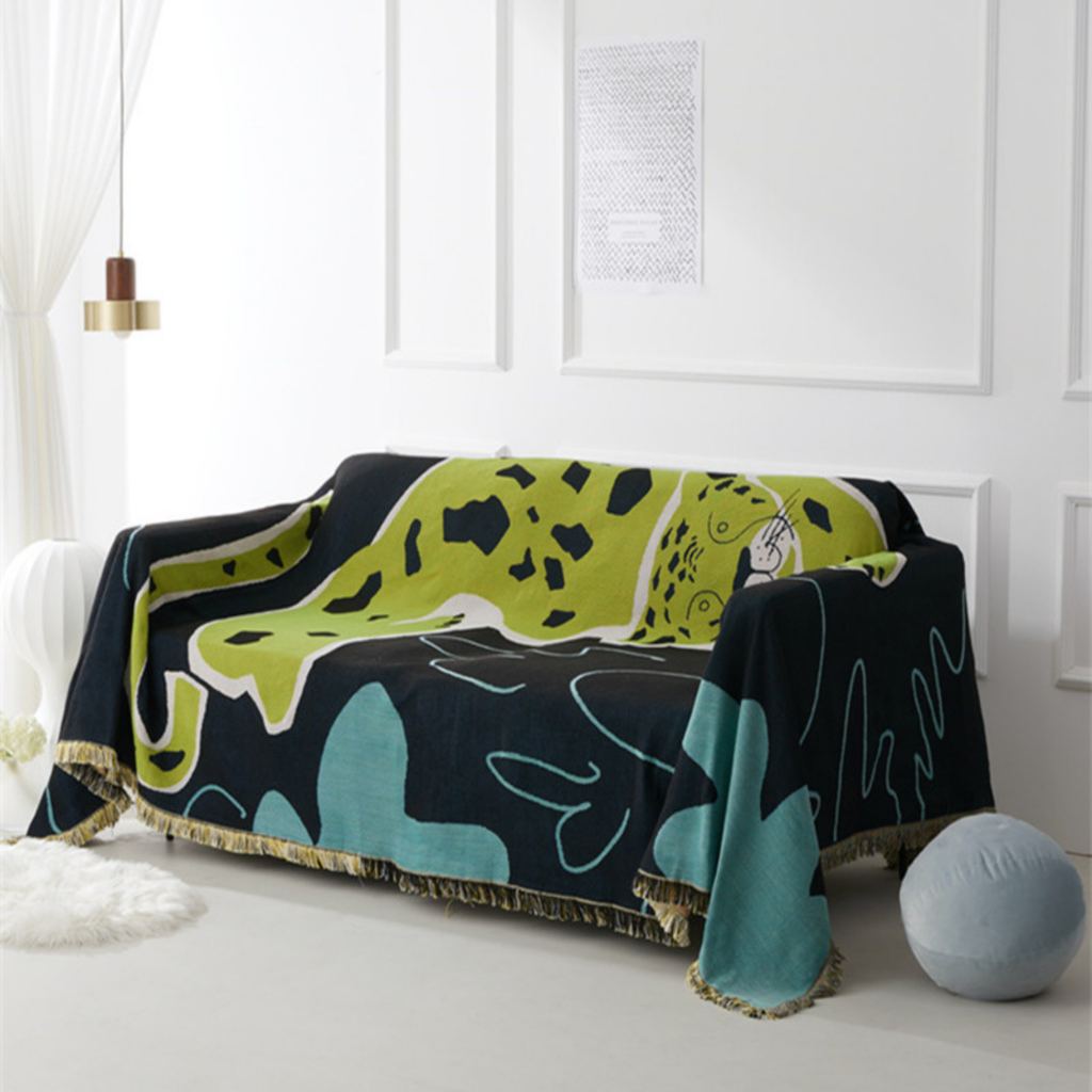 Jungle Tiger -Tapestry, Throw blanket, Wall blanket